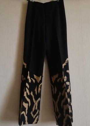 Шикарные шерстяные брюки