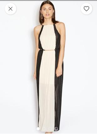 Плиссированное, шикарное платье нс