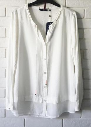 Новая белая  рубашка tom tailor