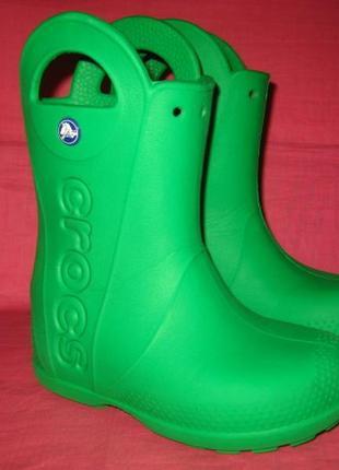 Сапоги crocs - 28 размер (c11), оригинал