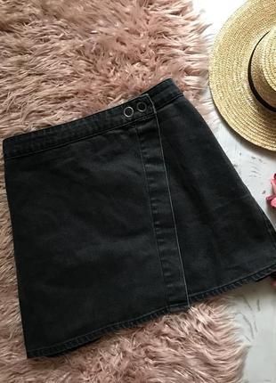 Джинсовая юбка asos(4xl/5xl)