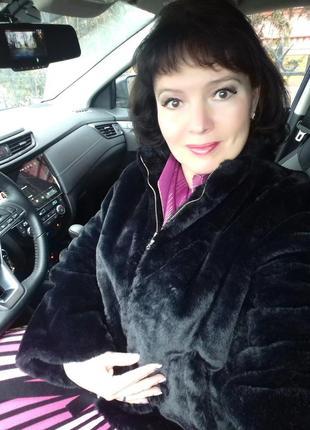 Шубка авто-леди