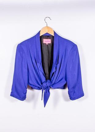 Синий пиджак летний monsson