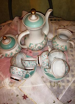 Чайный (кофейный)набор на 6 персон