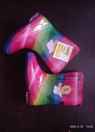 Twenty резиновые ботинки