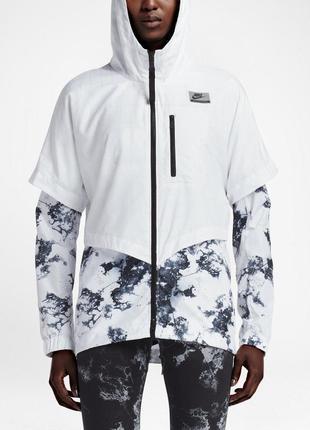 Новая ветровка nike белая куртка оригинал найк лето