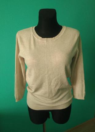 Джемпер пуловер бежевый женский