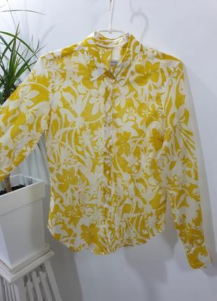 Лёгкая хлопковая рубашка 0039 италия