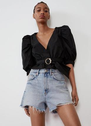 Новые джинсовые шорты zara