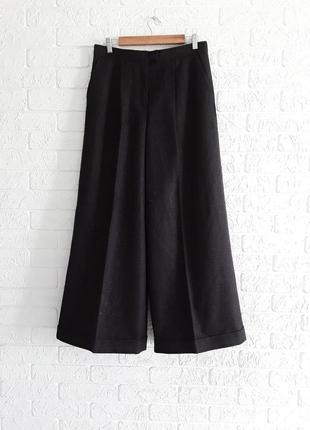 Шикарные шерстяные  брюки  - кюлоты от известного бренда