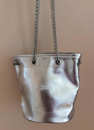 Сумочка с цепочками jean paul goultier( по типу сумка ведро)