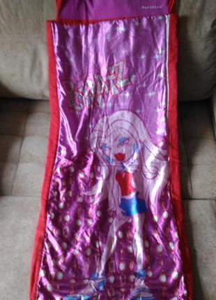Спальник, спальный мешок  bratz ready bed от 6лет и старше2 фото
