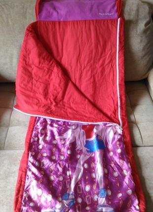 Спальник, спальный мешок  bratz ready bed от 6лет и старше4 фото