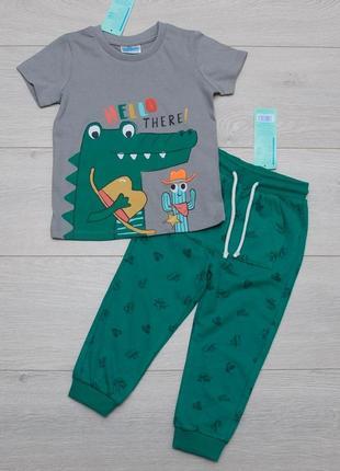 Костюм летний для мальчика футболка и штаны pepco, польша. 92, 98