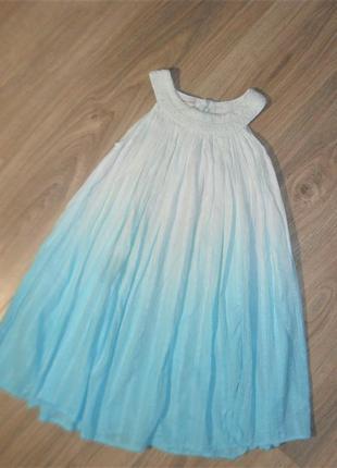 Платье в стиле амбре на 9-10лет