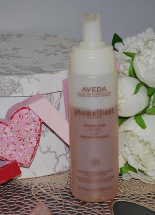 Пена для придания объема волосам aveda styling phomollient styling foam 200ml