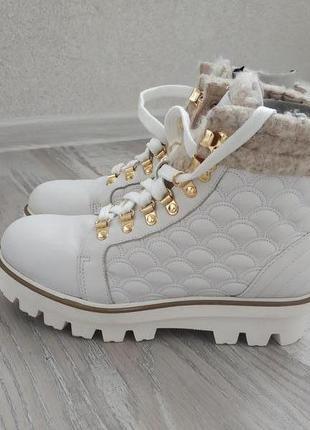 Демисезонные итальянские ботинки baldinini