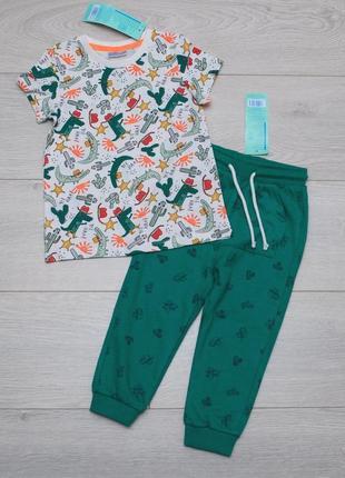 Летний костюм для мальчика  футболка и штаны pepco польша 92, 98