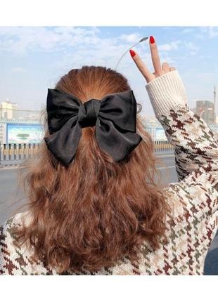 """Бант для волос """"tender bow"""", разные цвета, заколка бант купить"""