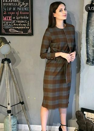 Новое классического стиля платья для офисного дрес кода