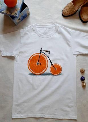 💕стильная, молодежная футболка свободного кроя💕