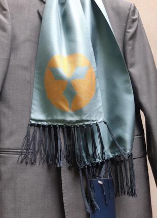 Шелковый шарф kenzo homme