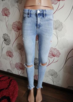 Стильные джинсы,скинни