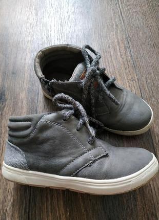 Ботинки демисезонные 19- 19,5см стелька