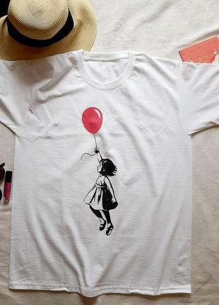 💕стильная, молодежная футболка своболного кроя💕