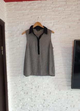 Блуза рубашка без рукавов papaya sale