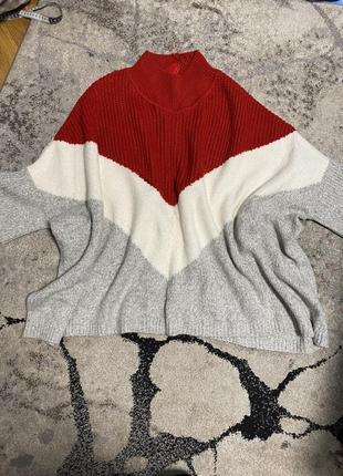 Жіноче панчо, кофта, светр