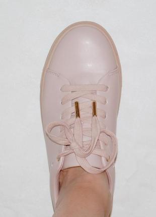 Туфли кроссовки кеды пудровые 37.5-38 р 24.2 см