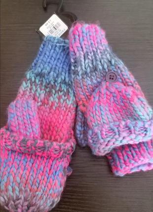 Варежки перчатки рукавиці