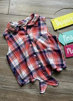 Рубашка блуза h&m 9-10л