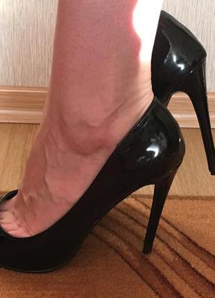 Классические туфли-лодочки reserved (эко-кожа)