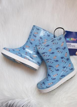 Модные резиновые сапоги на дождик