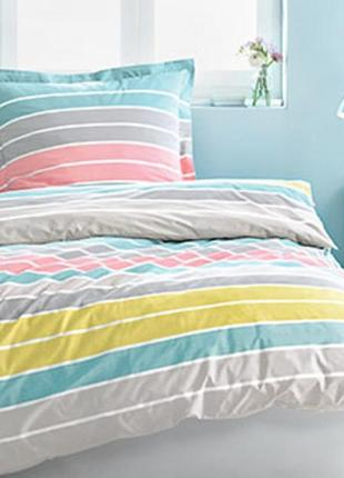 Цветное постельное белье, цветной перкаль 100% хлопок dormia, германия