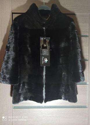 Новая норковая шуба куртка.