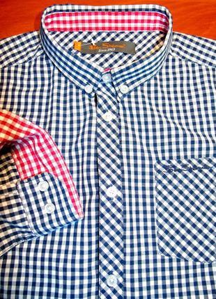Ben sherman шикарная рубашка на мальчика - 11 - 14 лет