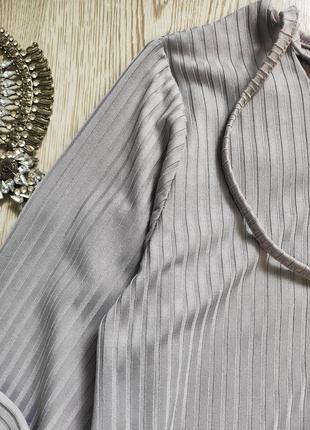 Серое голубое длинное платье миди макси с люверсами шнуровкой на вырезе декольте батал5 фото