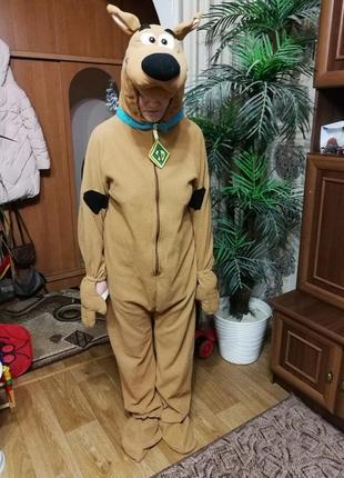 Новогодний костюм scooby-doo 180