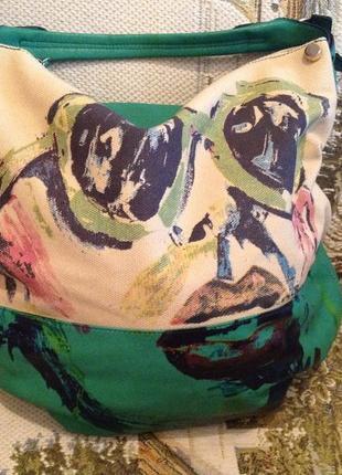 Повседневная, вместительная сумка бренда batty