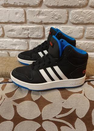 Кроссовки, хайтопы, ботинки adidas (ориг). размер 36.5 (ст. 23.5 см).