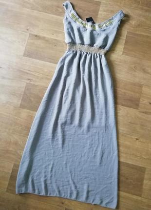 Макси сарафан в греческом стиле, длинный, в пол, сукня, плаття, платье