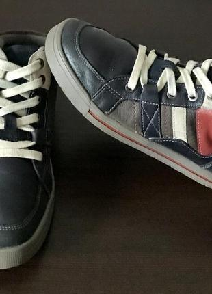 Ботинки clarks кеди шкіряні