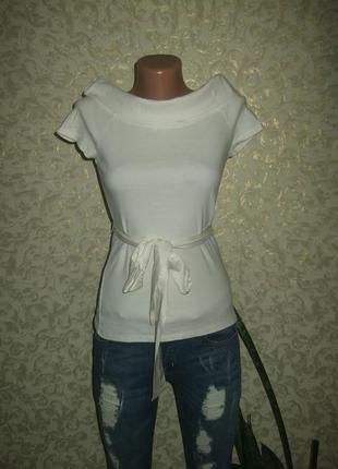 Оригинальная футболка блуза в ретро стиле monsoon