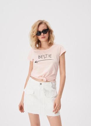 Женская футболка 1077н