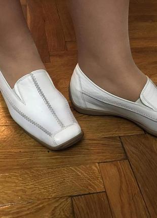 Туфли gabor новые спортивные мокасины кожаные мягкие ортопедические удобные австрия