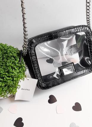 Bershka силиконовая сумочка оригинал