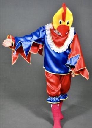 Яркий карнавальный костюм петух півень 5-10 лет